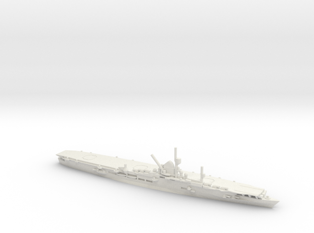 German Aircraft Carrier Graf Zeppelin in White Natural Versatile Plastic