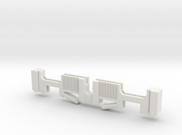 Custom request - KR Luke V2 clamp switch holder in White Natural Versatile Plastic