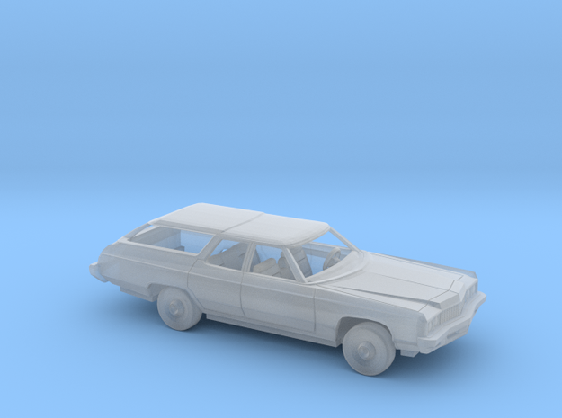 1/160 1973 Chevrolet Kingswood Station Wagon in Smooth Fine Detail Plastic