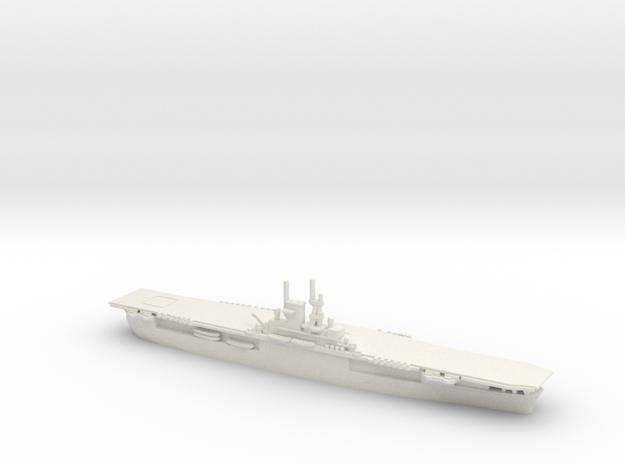 USS Wasp (CV-7) in White Natural Versatile Plastic: 1:1800