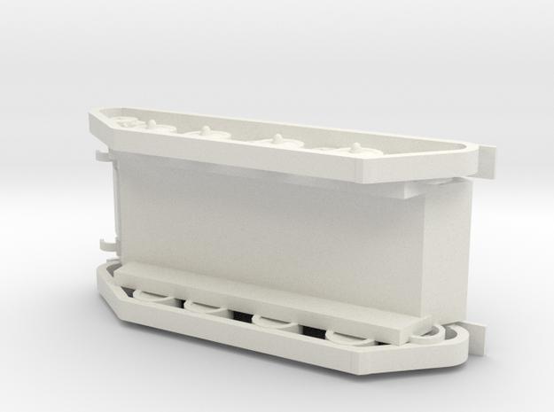 Transport in White Natural Versatile Plastic