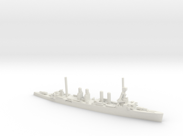 US Omaha-Class Cruiser in White Natural Versatile Plastic