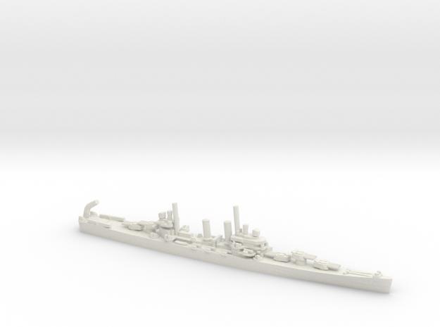 US Brooklyn-Class Cruiser in White Natural Versatile Plastic: 1:1800