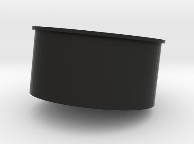 UM3_20190714Cylinder04 in Black Natural Versatile Plastic
