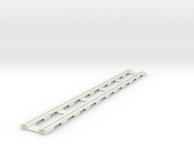p14tr-straight-168-long in White Natural Versatile Plastic