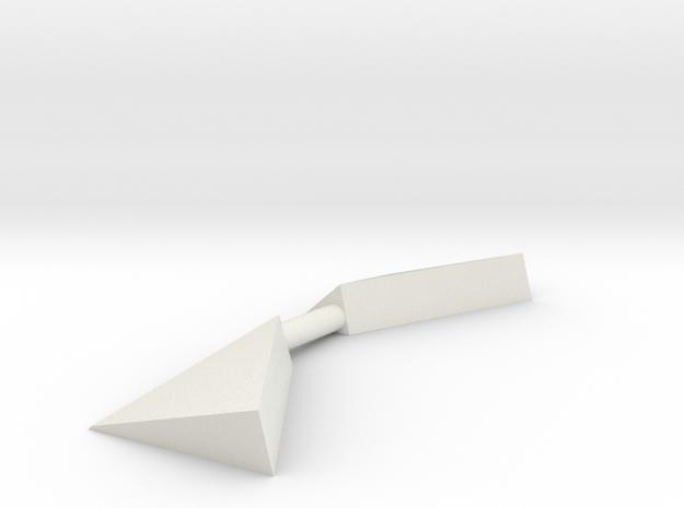 ASD 3213 - Bridge Corners (2 pcs) in White Natural Versatile Plastic