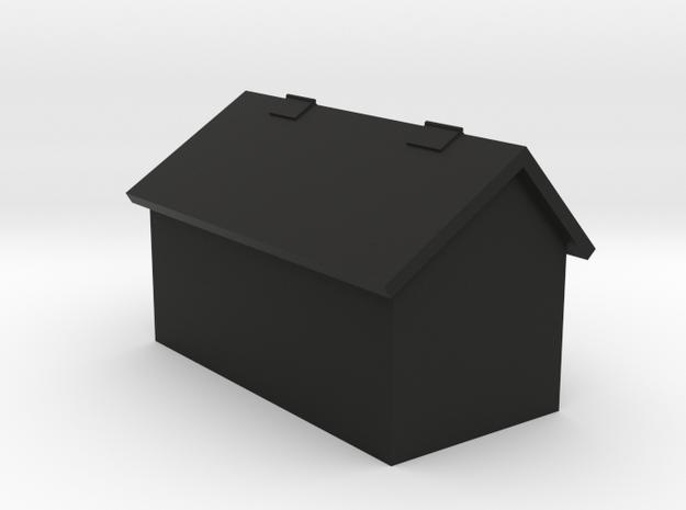 No. 23 - Tank Leg Tool Box .625 in Black Natural Versatile Plastic