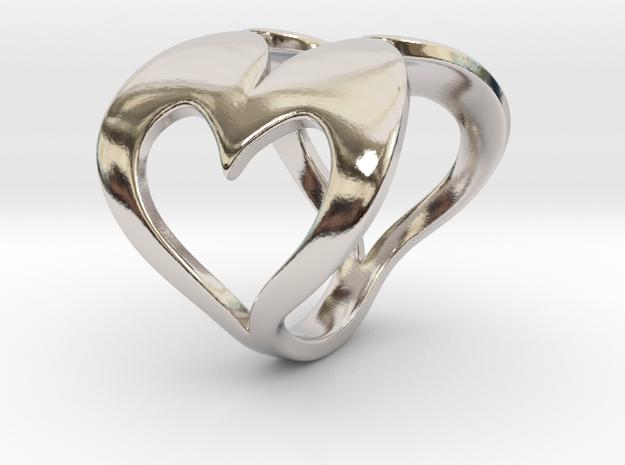 Valentin - Ring in Rhodium Plated Brass: 6 / 51.5