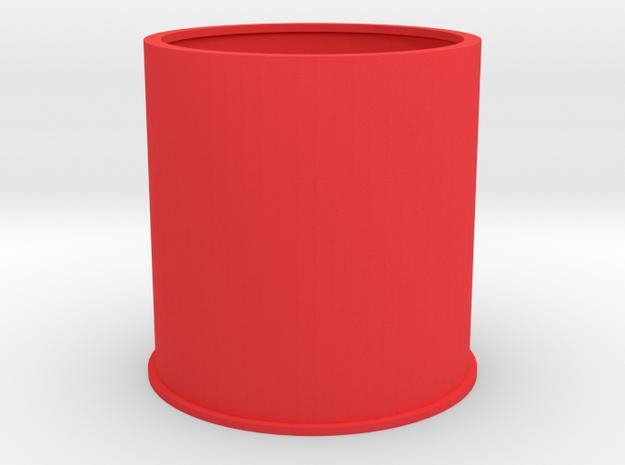 20190717PneumaticTowerSegment02at86mmRepaired in Red Processed Versatile Plastic