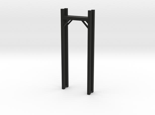Pick Up Ladder Rack in Black Natural Versatile Plastic