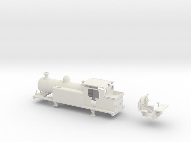 LBSCR Late SR / BR E4-X (More Rivets!) in White Natural Versatile Plastic