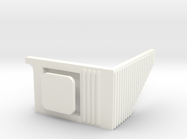 Topall esquerre 440R in White Processed Versatile Plastic