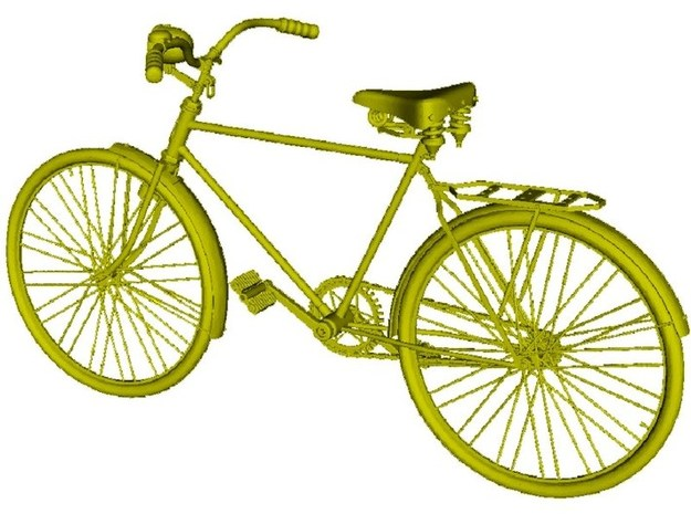 1/72 scale WWII Wehrmacht M30 bicycle model x 1