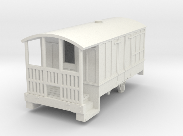 0-100-cavan-leitrim-4w-passenger-brakevan in White Natural Versatile Plastic