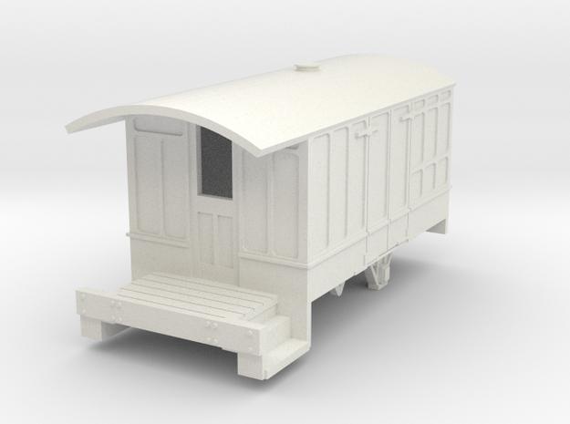 0-97-cavan-leitrim-4w-passenger-brakevan-body in White Natural Versatile Plastic