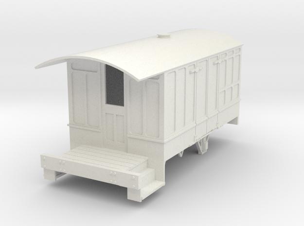 0-32-cavan-leitrim-4w-passenger-brakevan-body in White Natural Versatile Plastic