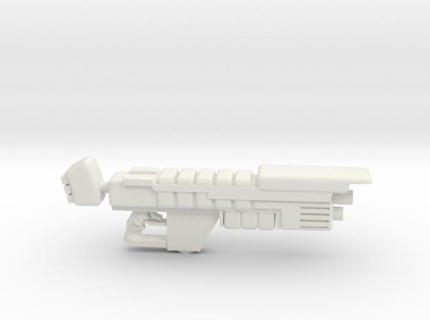 Plasmagun Apollo Pattern in White Natural Versatile Plastic