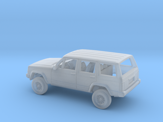 1/87 1984-96 Four Wheel Drive SUV Kit in Smooth Fine Detail Plastic