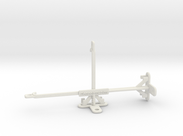 Huawei nova 5 Pro tripod & stabilizer mount in White Natural Versatile Plastic