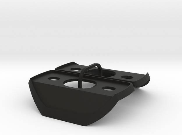 GTI Side Mirror Gasket Set for an MK1 in Black Natural Versatile Plastic