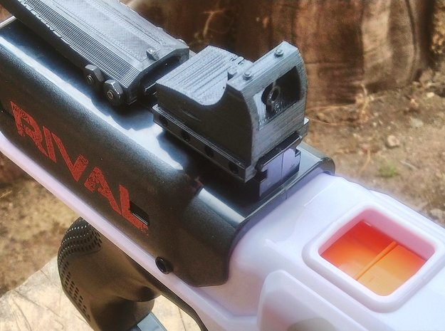Micro Red Dot Sight Mark II for Rival Rail in Red Processed Versatile Plastic