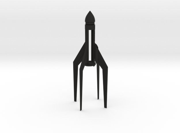 Sparrow mk1 rocket, for C size estes rocket engine 3d printed