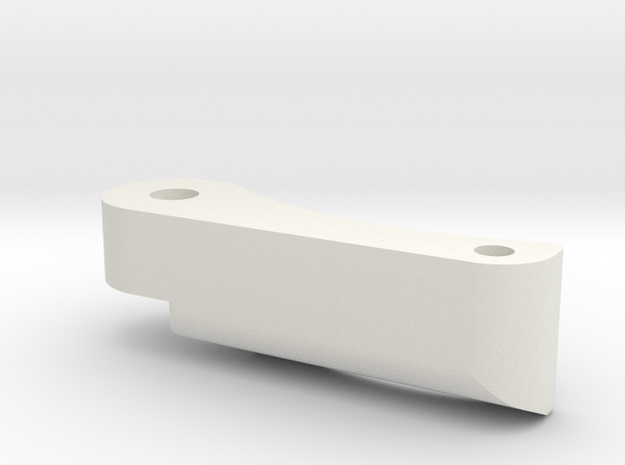 Spur saver for left side (BWE-013862) in White Natural Versatile Plastic