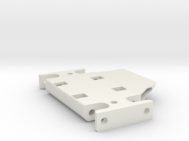 Ventru-SKID -V9-SP(Scale Performance) in White Natural Versatile Plastic