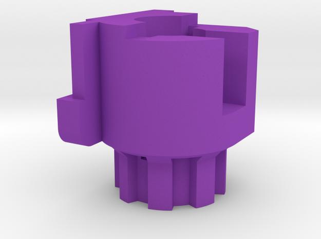 Prowin mount for hk417 in Purple Processed Versatile Plastic
