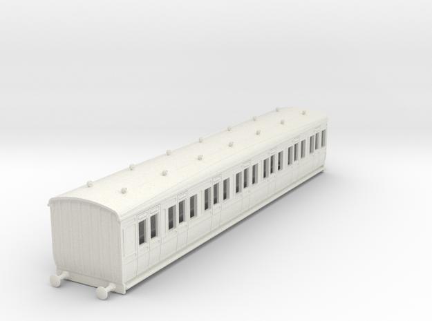 o-87-gcr-london-sub-brake-composite-coach in White Natural Versatile Plastic