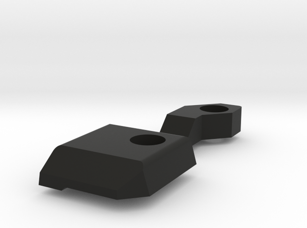 Masada Deflector set in Black Natural Versatile Plastic