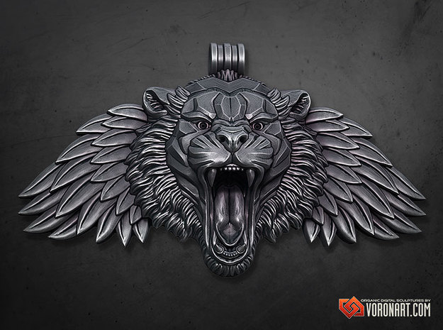Winged Tiger pendant