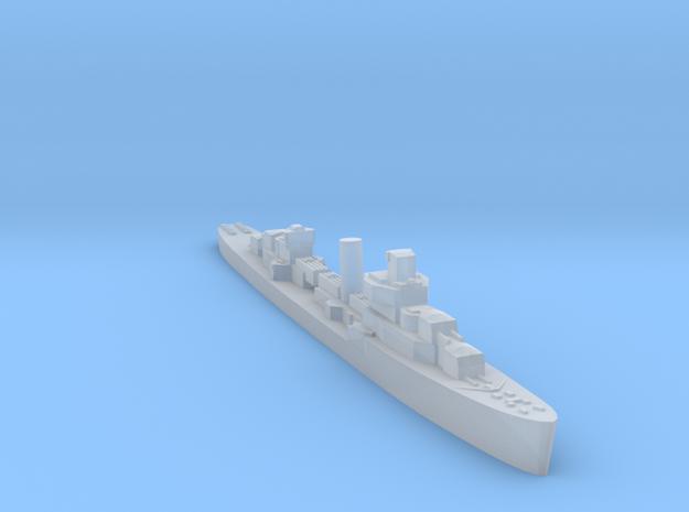 USS Davis destroyer 1940 1:3000 WW2 in Smoothest Fine Detail Plastic