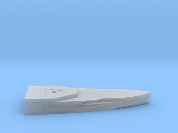1/600 HMS Barham Hull Aft Waterline Model