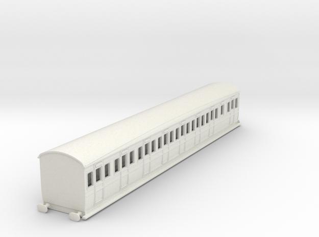 0-87-secr-iow-d40-third-class-coach in White Natural Versatile Plastic