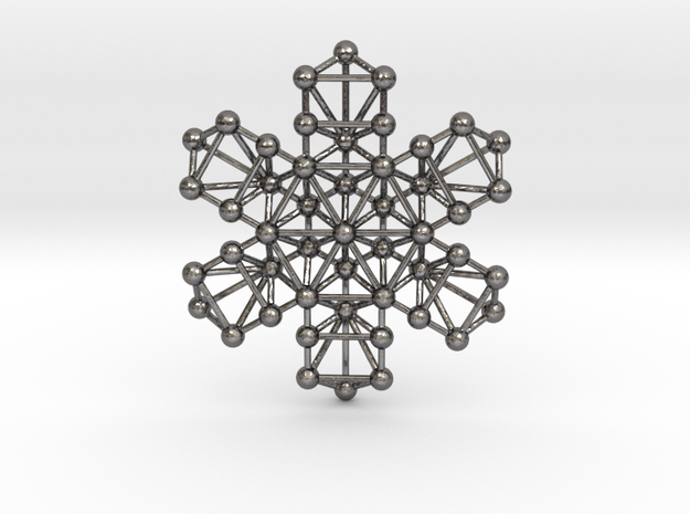 Snowflake of Life 3d printed