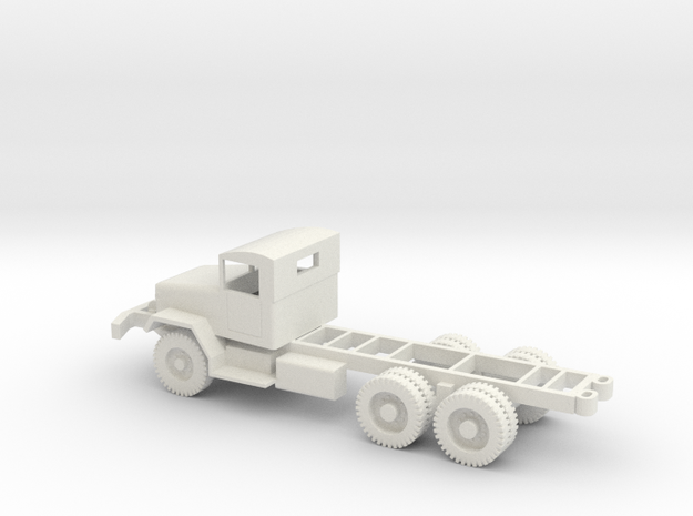 1/72 Scale M46 Chassis in White Natural Versatile Plastic