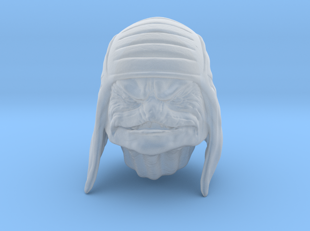 reptilian alien in 1/6 scale in Smoothest Fine Detail Plastic