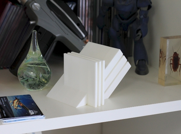 """Seri AI Vers 2 3d printed Photo of """"White Strong & Flexible"""" version of the sculpture."""