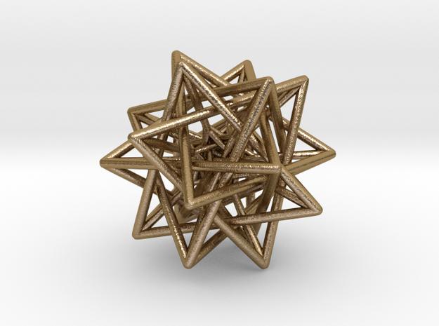 5 Tetrahedra inside 5 Tetrahedra 3d printed