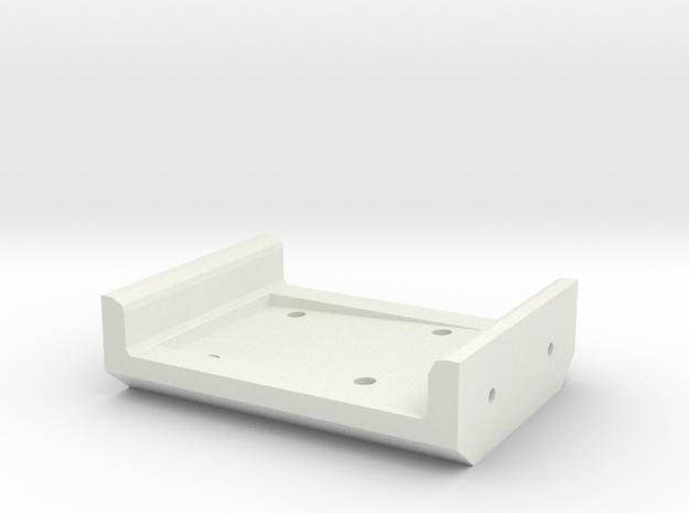 Halter Axialgetriebe in White Natural Versatile Plastic