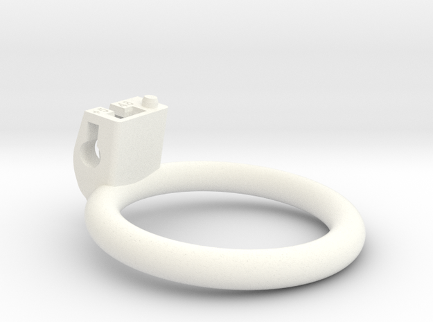 Cherry Keeper Ring - 48mm Planar +5 degrees in White Processed Versatile Plastic