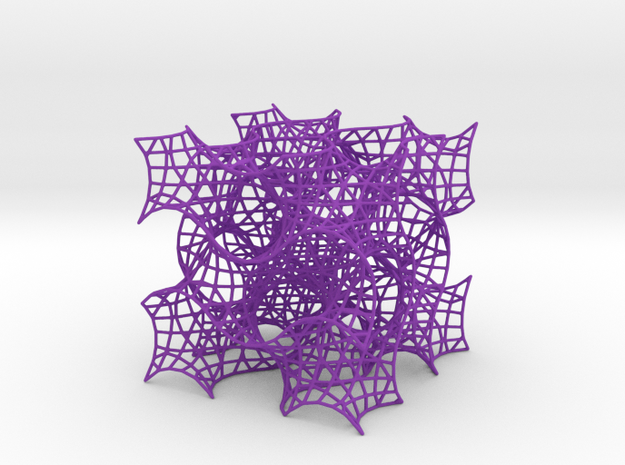 Gyroid Mesh-1.5 cells on a side 3d printed