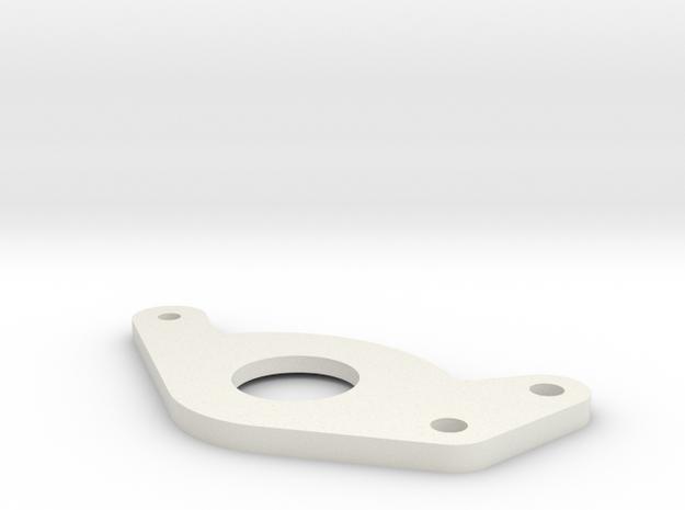 Plate 38 in White Natural Versatile Plastic
