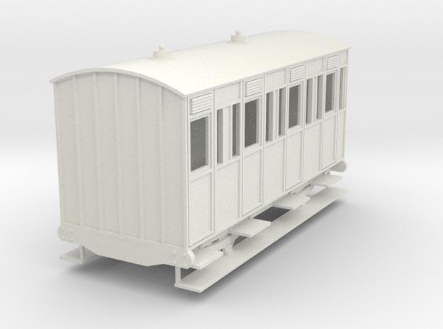 o-re-32-eskdale-3rd-class-coach in White Natural Versatile Plastic