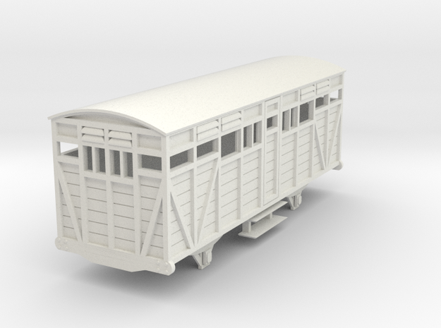 o-re-43-eskdale-big-saloon-coach in White Natural Versatile Plastic