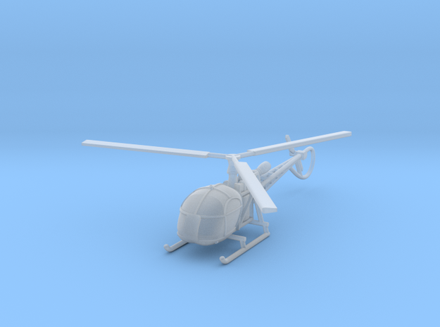 alouette2 in Smooth Fine Detail Plastic