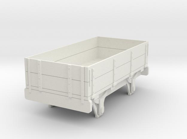 0-re-32-eskdale-2-plank-wagon in White Natural Versatile Plastic