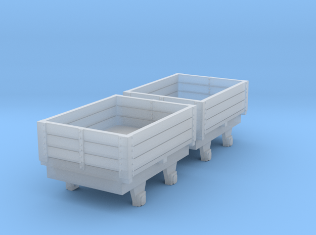 o-re-148fs-eskdale-ore-wagons in Smooth Fine Detail Plastic