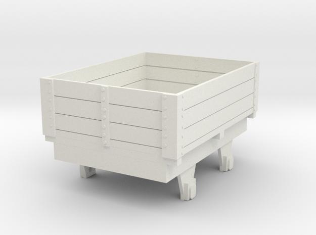 0-re-55-eskdale-ore-wagon in White Natural Versatile Plastic